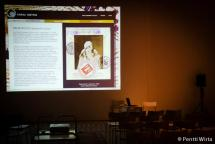 Screen shot of the Virtual Museum.