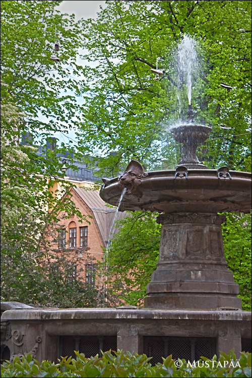 Fountain, House of the Estates, Helsinki