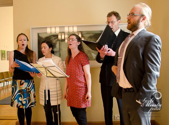 Ensemble Iberia, ensiesiintyminen. Photo (c) Soili Mustapää 2012