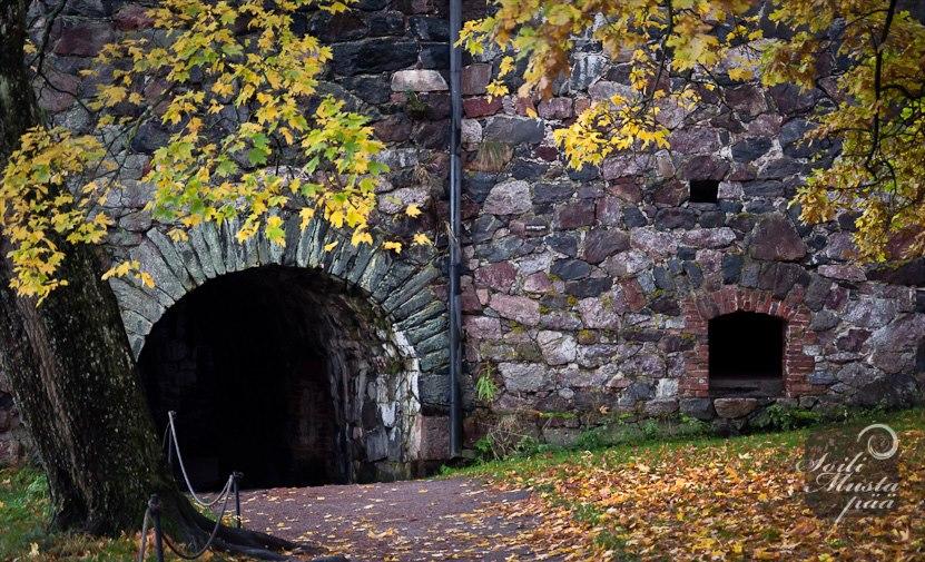 October in Suomenlinna (c) Soili Mustapää, https://mustapaa.wordpress.com
