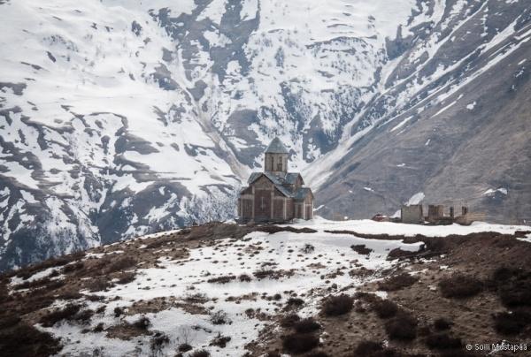 დიდი კავკასიონი - the Greater  Caucasus. Photo ©Soili Mustapää.