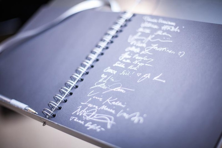 Guestbook.