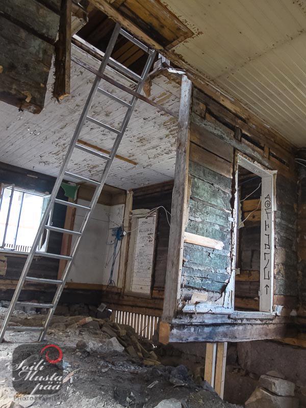Renovation of an Old House, Turku. Photo Soili Mustapää